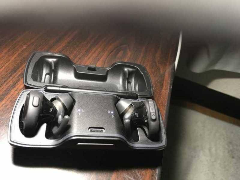 BOSE:SoundSport Free wireless headphones|2万円台のスポーツでの使用に重点を置いた
