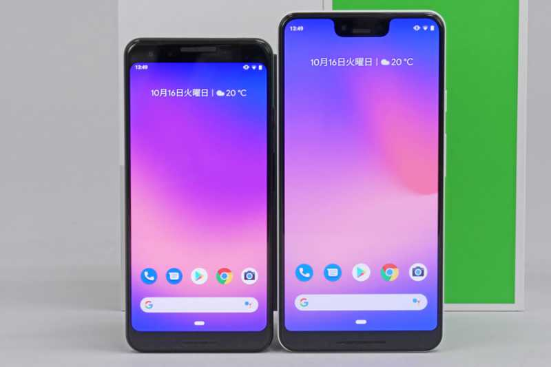 google pixel 3 XLスマートフォン(SIMフリー)のスペック