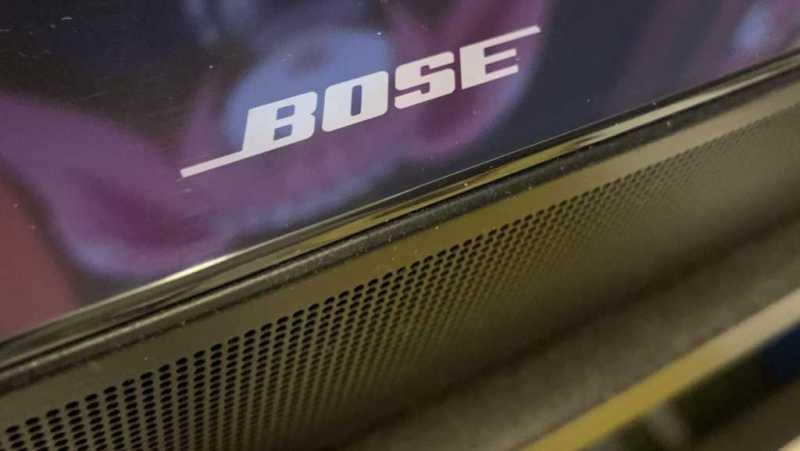 Bose Soundbar 500スピーカーのスピーカー部分