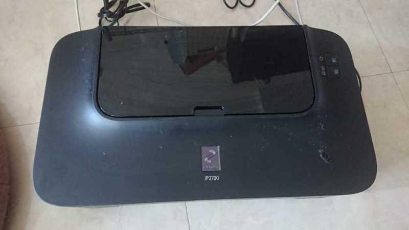 キャノンPIXUS iP2700プリンターのトップカバー