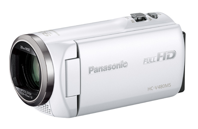 panasonic HC-V480MS(ホワイト)ビデオカメラのスペック