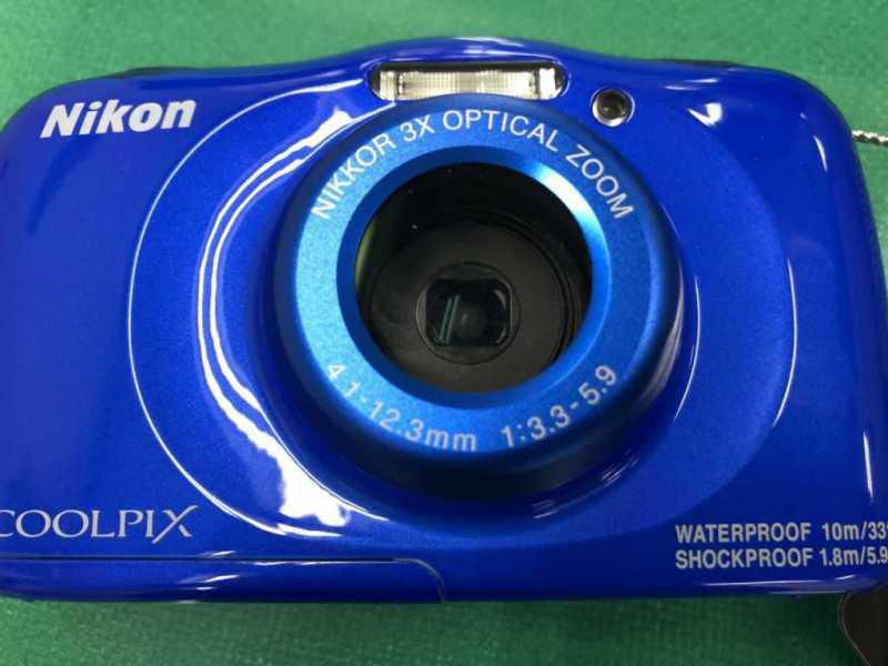 NIKON COOLPIX W100/BLデジタルカメラ本体