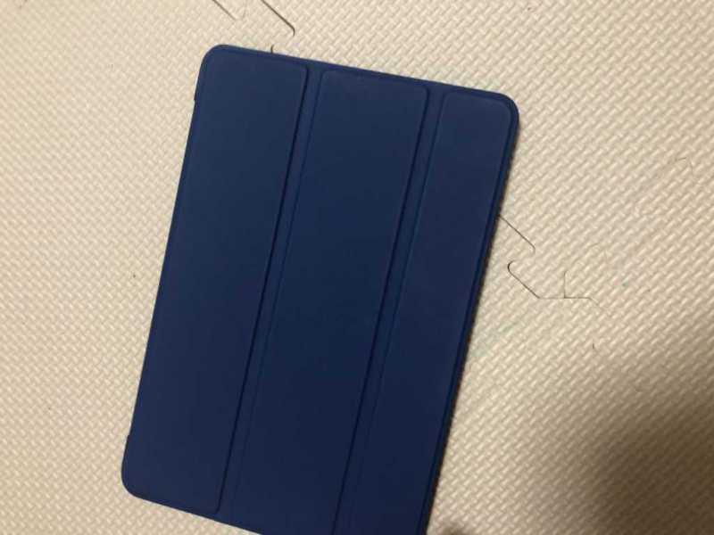 Apple iPad mini5(第5世代)タブレットにケースカバーを付けた状態