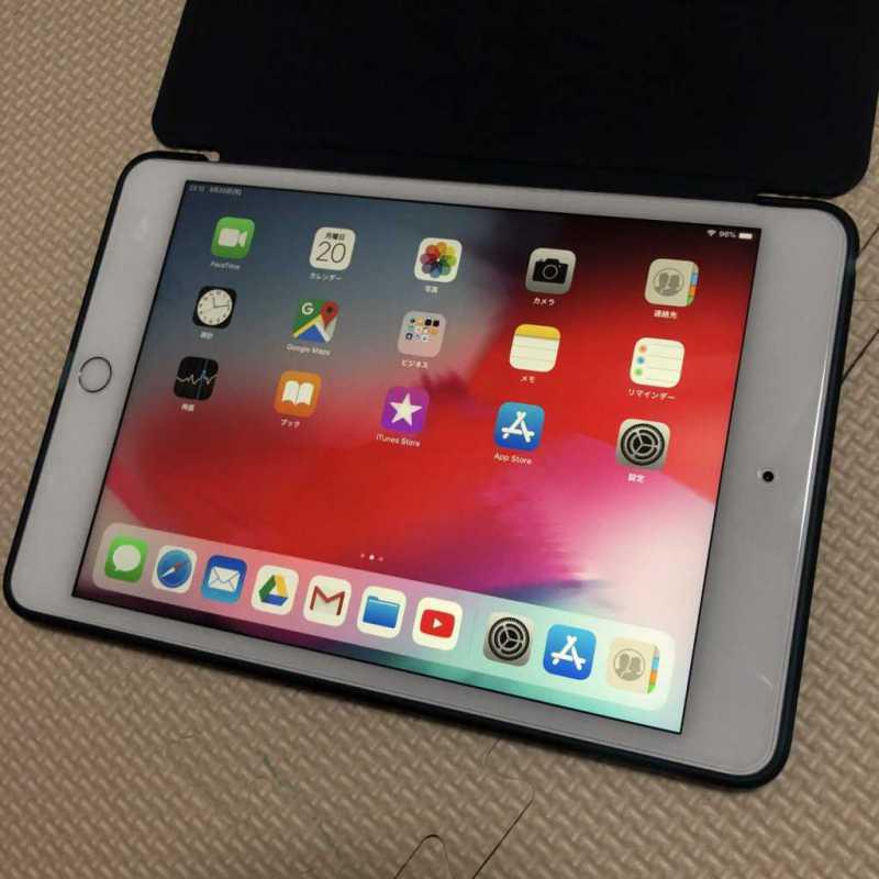Apple iPad mini5(第5世代)タブレットの表示画面
