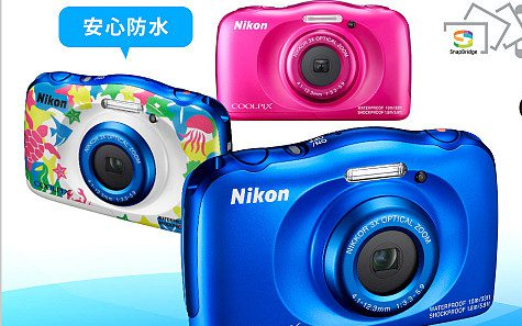 NIKON COOLPIX W100/BLデジタルカメラのスペック