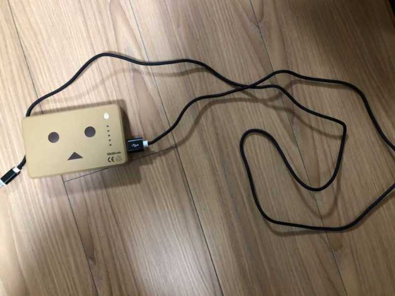 モバイルバッテリー(cheero Power Plus 10050mAh DANBOARD CHE-066)