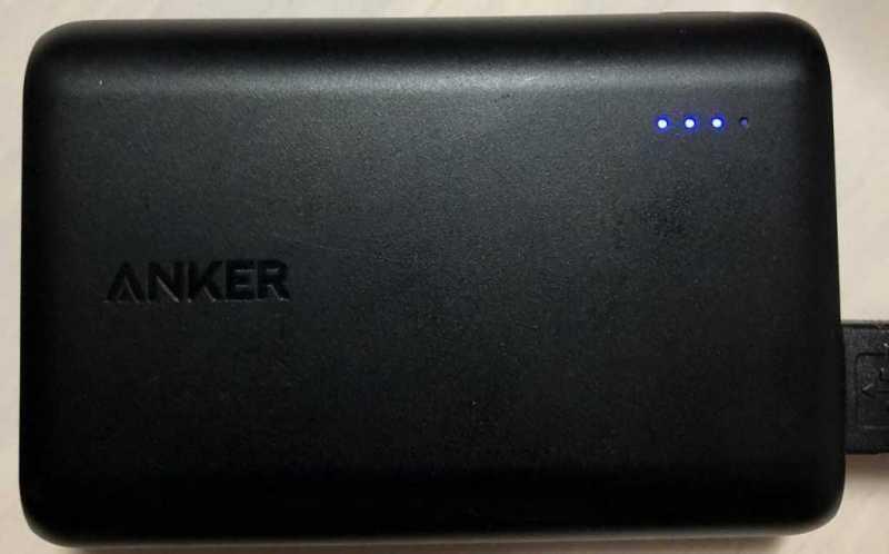 Anker PowerCore 10000モバイルバッテリー|コスパ抜群の定番モデル
