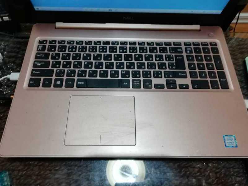 DELL Inspiron 15 5000(5593)ノートパソコンのキーボード