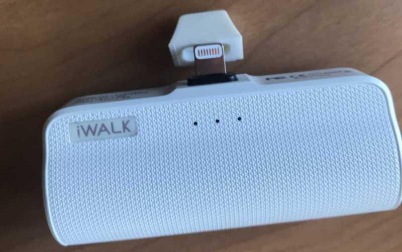 iWALK Link Me Plus 3300mAhモバイルバッテリー|iPhoneユーザーにおすすめ