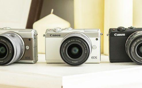 Canon EOS M100 ダブルレンズキットデジタルカメラのスペック