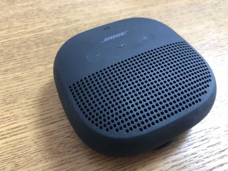 Bose SoundLink Micro Bluetooth speakerスピーカーのスピーカー部