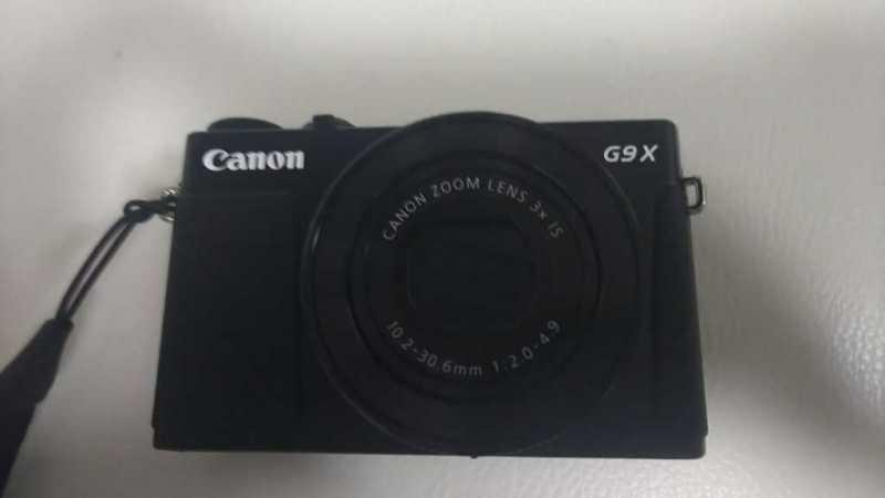 Canon PowerShot G9 X Mark IIデジタルカメラの本体