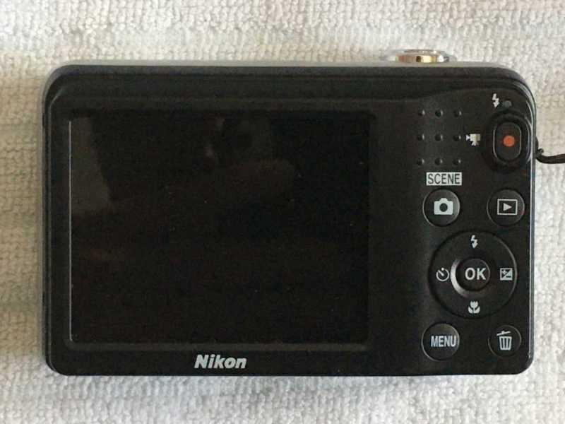 Nikon COOLPIX A10の液晶モニター