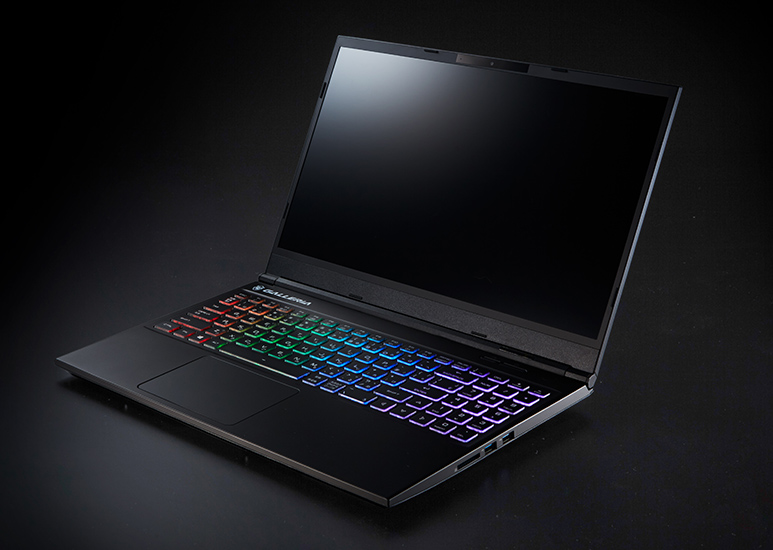 GALLERIA GCR1650GFノートパソコンのスペック