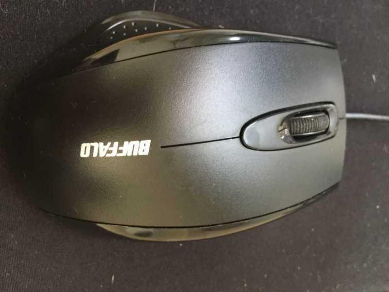 バッファロー BUFFALO BSMRU050マウスの本体