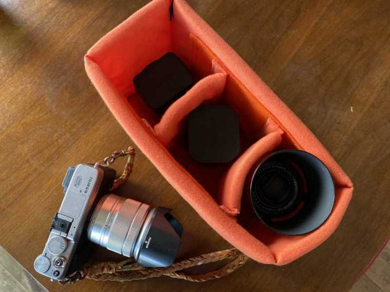 カメラバッグ:インナーソフトボックス 300 KCS-39-300OR(HAKUBA:ハクバ)