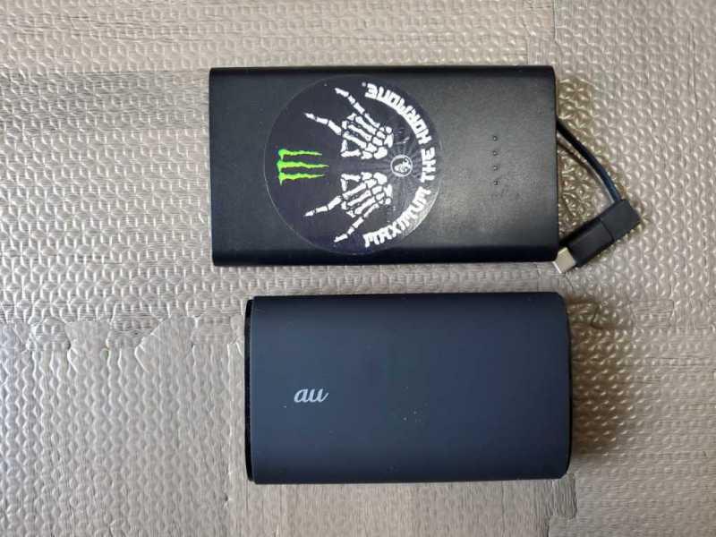 モバイルバッテリー:PowerCore Duo 10050(au)