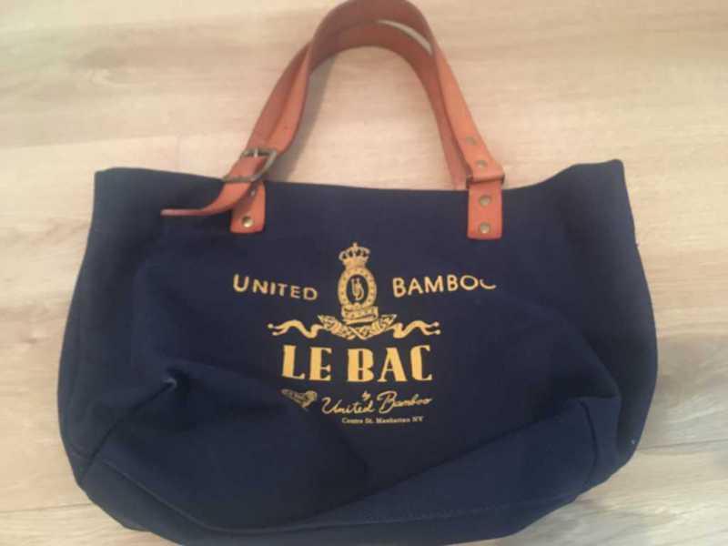 トートバッグ:LE BAC by United Bamboo