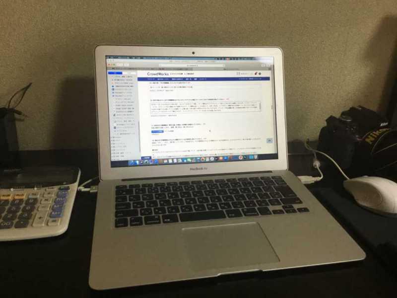 省スペースで様々な作業を簡素化したパソコン作業環境