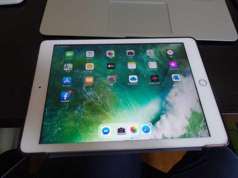 自宅のパソコン作業環境で意外と活躍しているものは「タブレット:Apple iPad 2017年モデル」