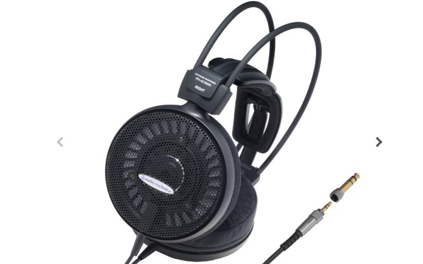 オーディオテクニカ ATH-AD1000Xヘッドホンのスペック
