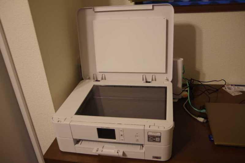 ブラザー プリビオ DCP-J582Nプリンターの原稿台