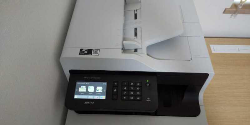 ブラザー MFC-L3770CDWプリンターの液晶パネル