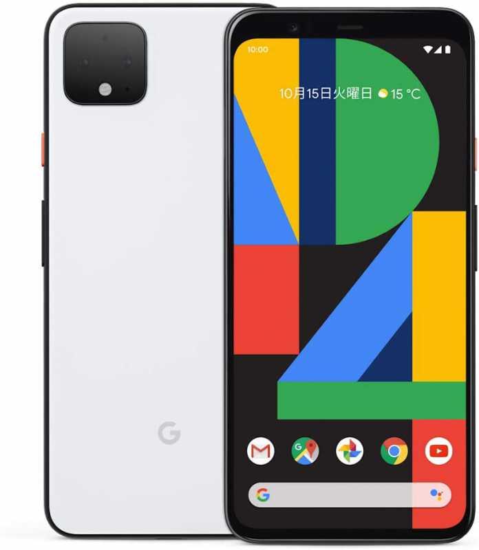 Google Pixel 4スマートフォン(SIMフリー)のスペック