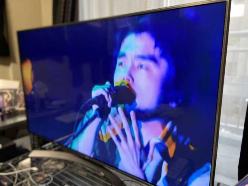 LGエレクトロニクス 55UK6300PJF(55インチ)液晶テレビのライブ映像の様子