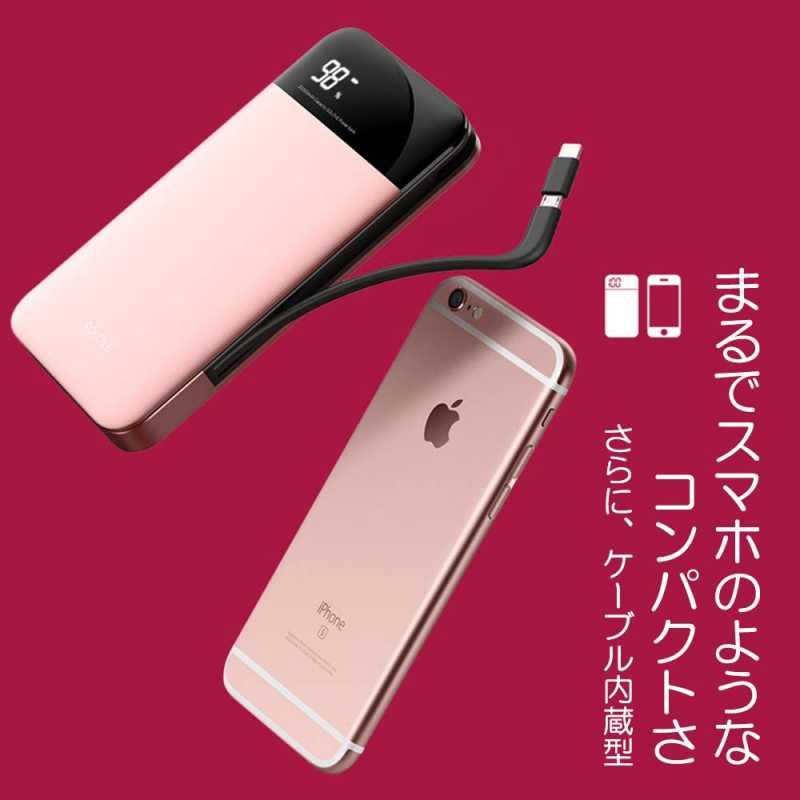 SOLOVE A5 Pro 20000mAh(ケーブル内蔵型)モバイルバッテリーのスペック