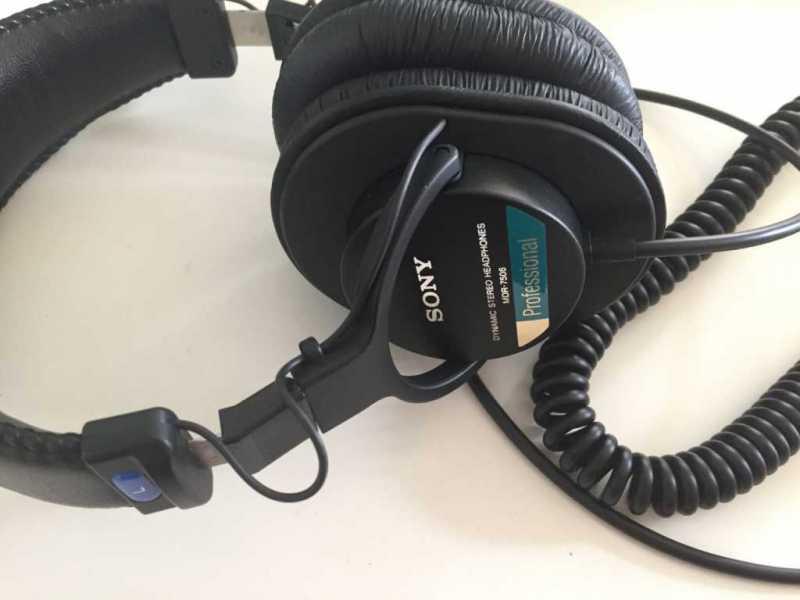 SONY  MDR-7506ヘッドホンのドライバーユニット