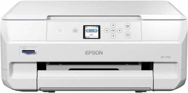 エプソン カラリオ EP-711Aプリンターのスペック