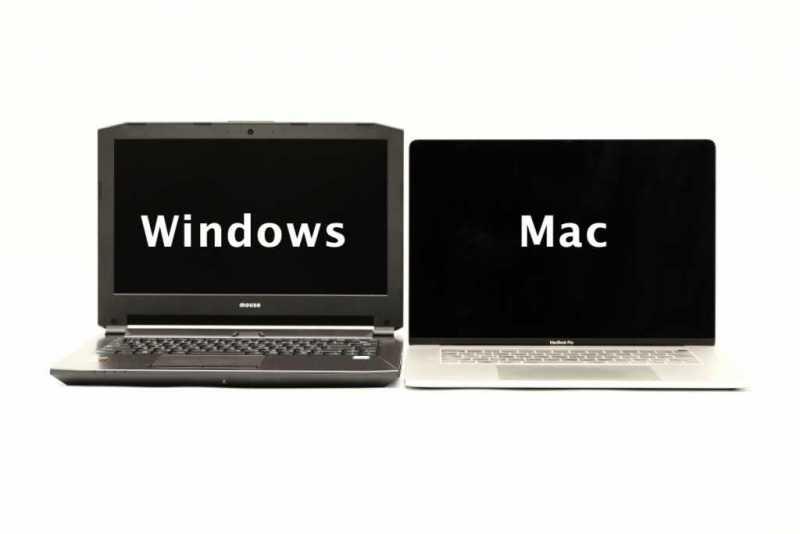 ノートパソコンをOSの種類から選ぶ