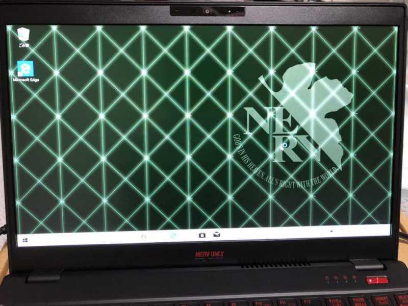 富士通 KuaL LIFEBOOK FMVU90NERV(UH90/D2)ノートパソコンのデスクトップ画面