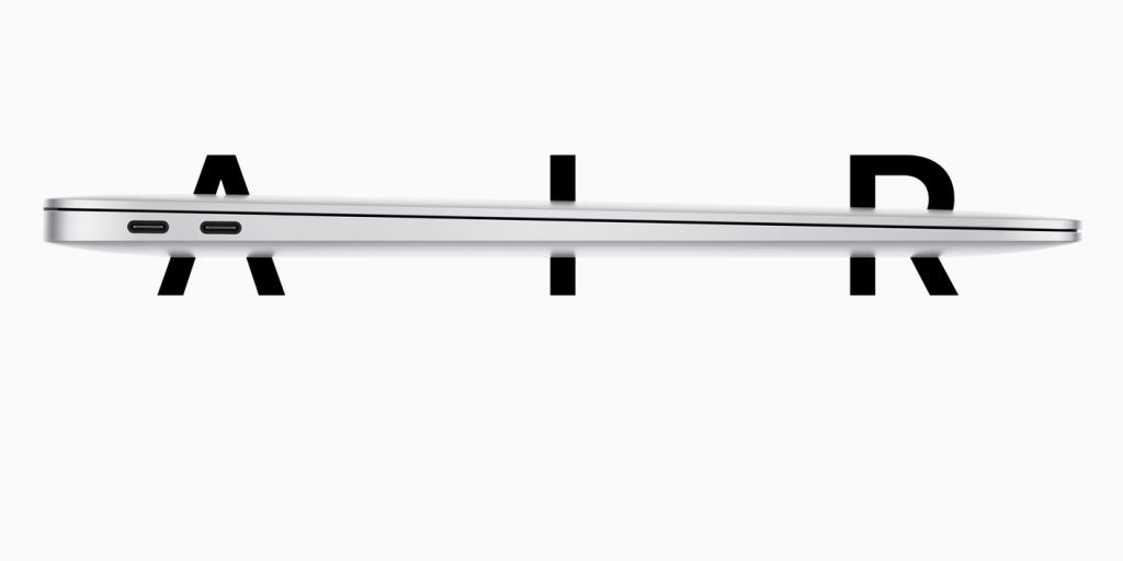 Apple:MacBook Air(Retina,13-inch,2020)|10万円台の軽量かつ薄型の定番モデル