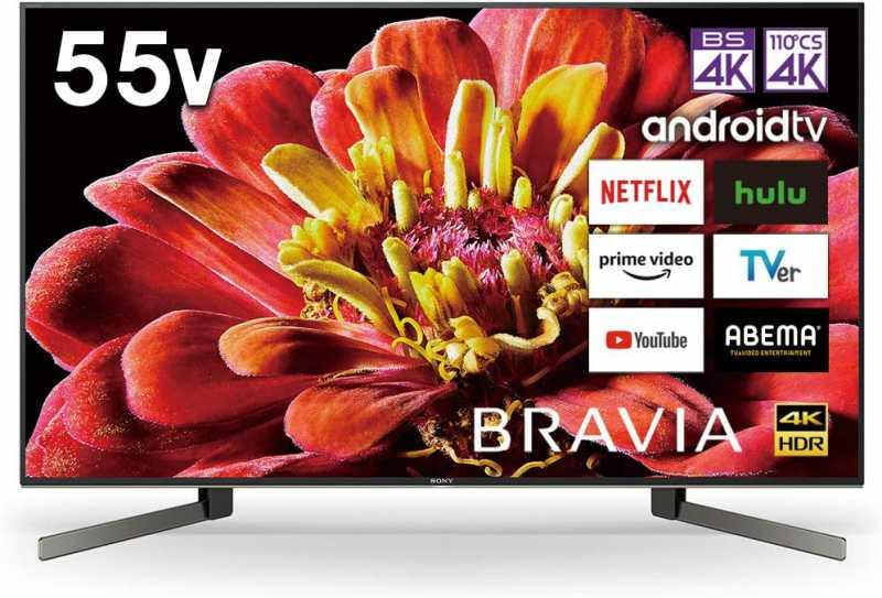 SONY:BRAVIA KJ-55X9500G 55V型|16万円台の4Kダブルユーナー内蔵の液晶テレビ