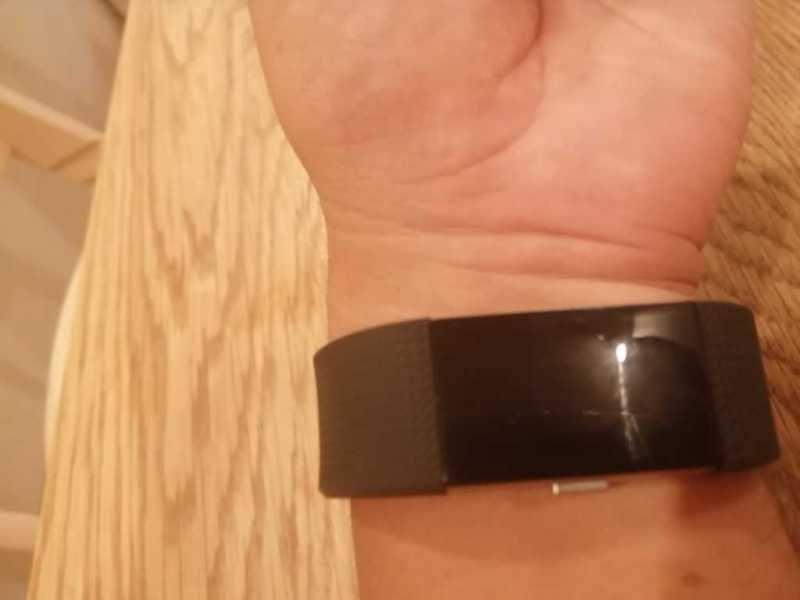 Fitbit Charge2スマートウォッチの装着感