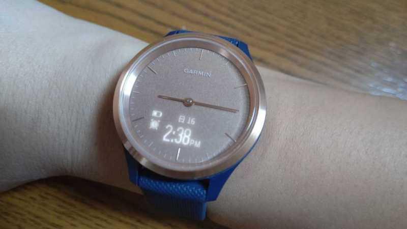 GARMIN vivomove 3Sスマートウォッチの時計機能