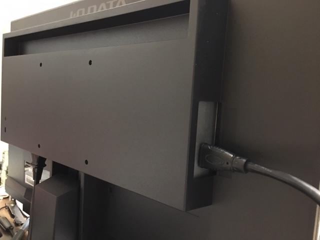 I-O DATA LCD-AH221EDB(21.5インチ)PCモニターの接続端子