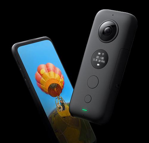 Insta360 One Xアクションカメラのスペック