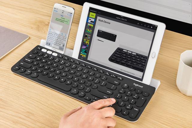 Logicool:K780|1万円台のマルチデバイスBluetooth キーボード