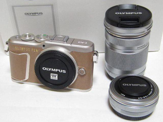 OLYMPUS PEN E-PL9 EZダブルズームキットデジタルカメラのレンズキット