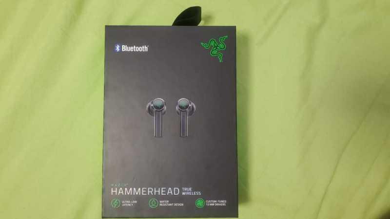 Razer Hammerhead True Wirelessワイヤレスイヤホンのケース