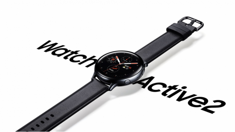 SAMSUNG:Galaxy Watch Active2(SM-R820)|3万円台のステンレスで高級感あふれるデザイン