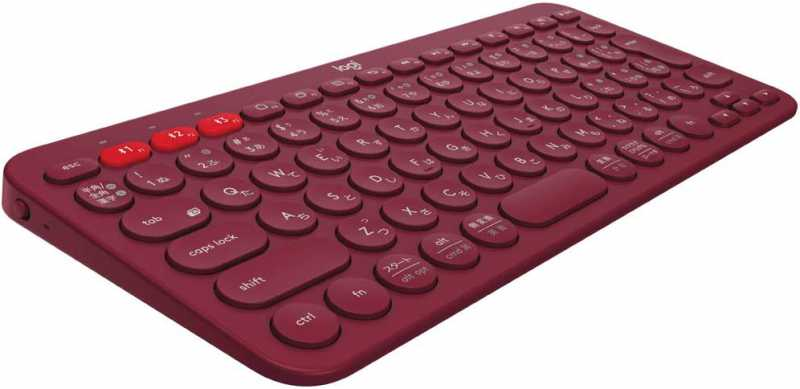 Logicool K380 Multi-Device Bluetooth Keyboardキーボードのスペック