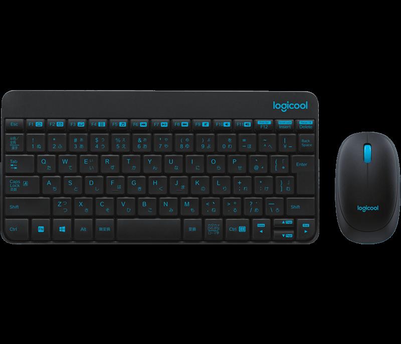 Logicool Wireless Combo MK245 NANOキーボードのスペック