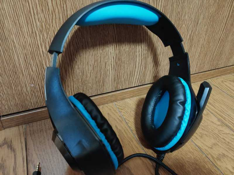 Answer GAMING EDITION HEADSET ANS-PF066BLヘッドセットの本体