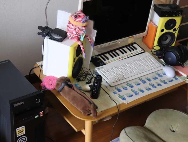 オーダーが入ったときだけ作曲する「省エネタイプのDTMer」な自宅のPC環境