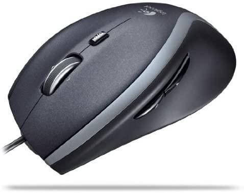 マウス:ロジクール M500 M-U0007(有線マウス)