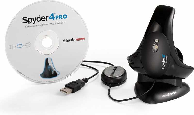 ディスプレイキャリブレーションツール:Datacolor Spyder 4 pro